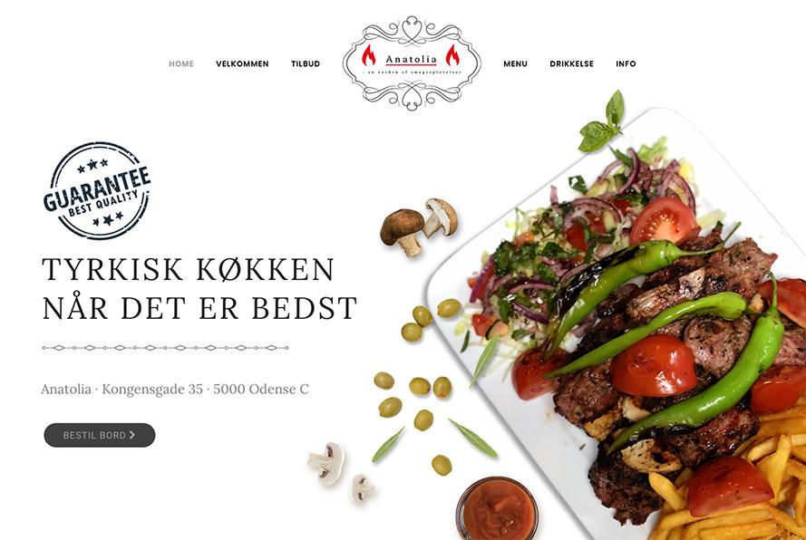 Anatolia - Tyrkisk restaurant i Odense