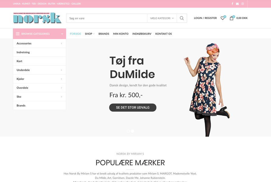 Norsk by Miriam S